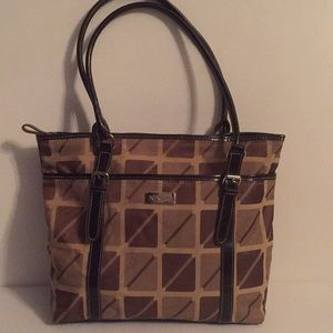 Nine & Co brown tote Type Purse